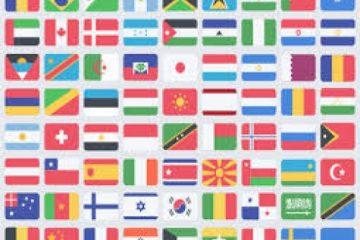 تحقیق بررسی کامل و جامع پرچم ملل مختلف