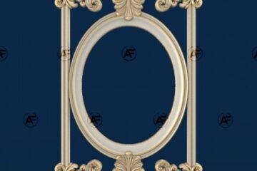 فروش فایل سه بعدی فریم و قاب آینه A16