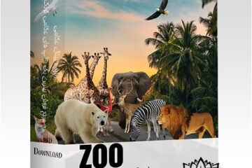 28 پوشش باغ وحش ، حیوانات وحشی واقع بینانه -کد 95