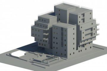 طرح معماری مجتمع مسکونی