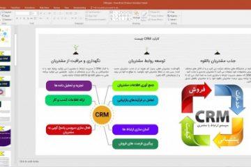پاورپوینت ارائه و کنفرانس مدیریت ارتباط با مشتری CRM  ( Customer relationship management  )