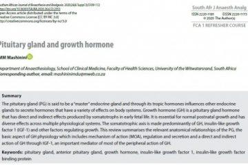 ترجمۀ مقاله Pituitary gland and growth hormone ، غده هیپوفیز و هورمون رشد