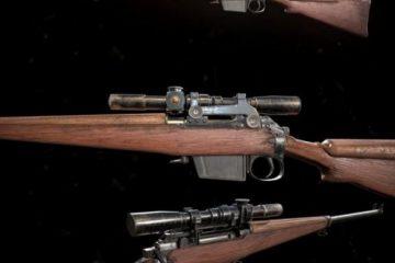 مدل سه بعدی L42A1 Sniper Rifle
