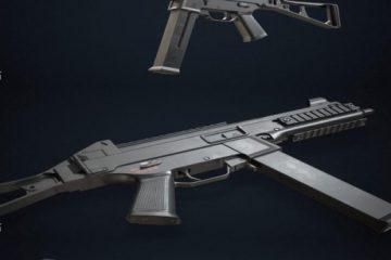 مدل سه بعدی Heckler_Koch UMP 45