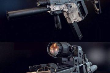 مدل سه بعدی اسلحه Kriss Vector