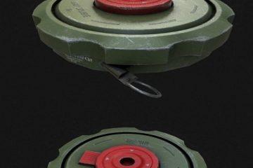 مدل سه بعدی مین Land Mine