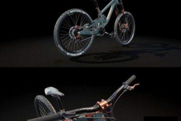 مدل سه بعدی دوچرخه کوهنوردی Mountain Bike