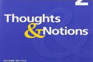 جواب تمرین های کتاب Thoughts and Notions فصل های اول تا چهارم