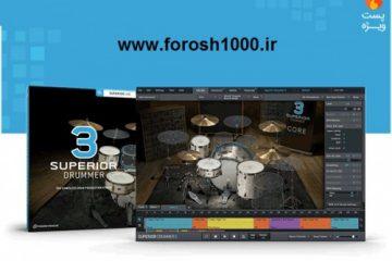 وی اس تی درامز جدید و حرفه ای Toontrack Superior Drummer v3.2.3