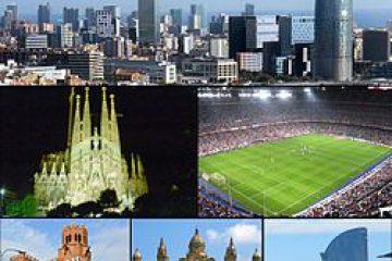 پاورپوینت کامل و جامع با عنوان بررسی شهر بارسلونا (Barcelona) در 39 اسلاید