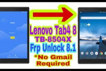 دانلود آموزش حذف FRP تبلت Tab 4 8مدل فنی tb-8504 اندروید 7 و 8