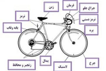 پاورپوینت کامل و جامع با عنوان بررسی دوچرخه، انواع و ساختار آن در 38 اسلاید