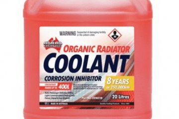 فرمول تولید پکیج ضد خوردگی مخصوص ضد یخ و آب رادیاتور