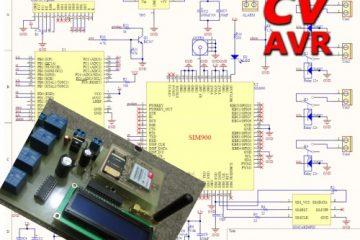 کنترل وسایل برقی با SMS به همراه تماس گیرنده