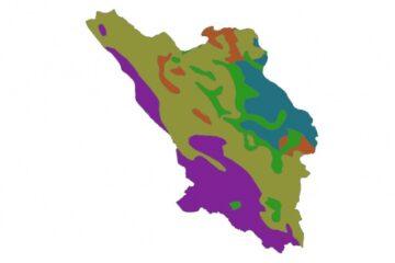 شیپ فایل های زمین محور استان چهار محال
