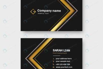 قالب کارت ویزیت با فرمت وکتور